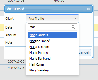 Integrating Select2 with PHPGrid | PHP Grid Framework