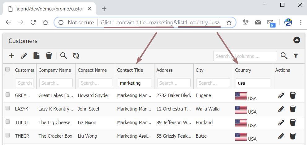 URL Based Filtering